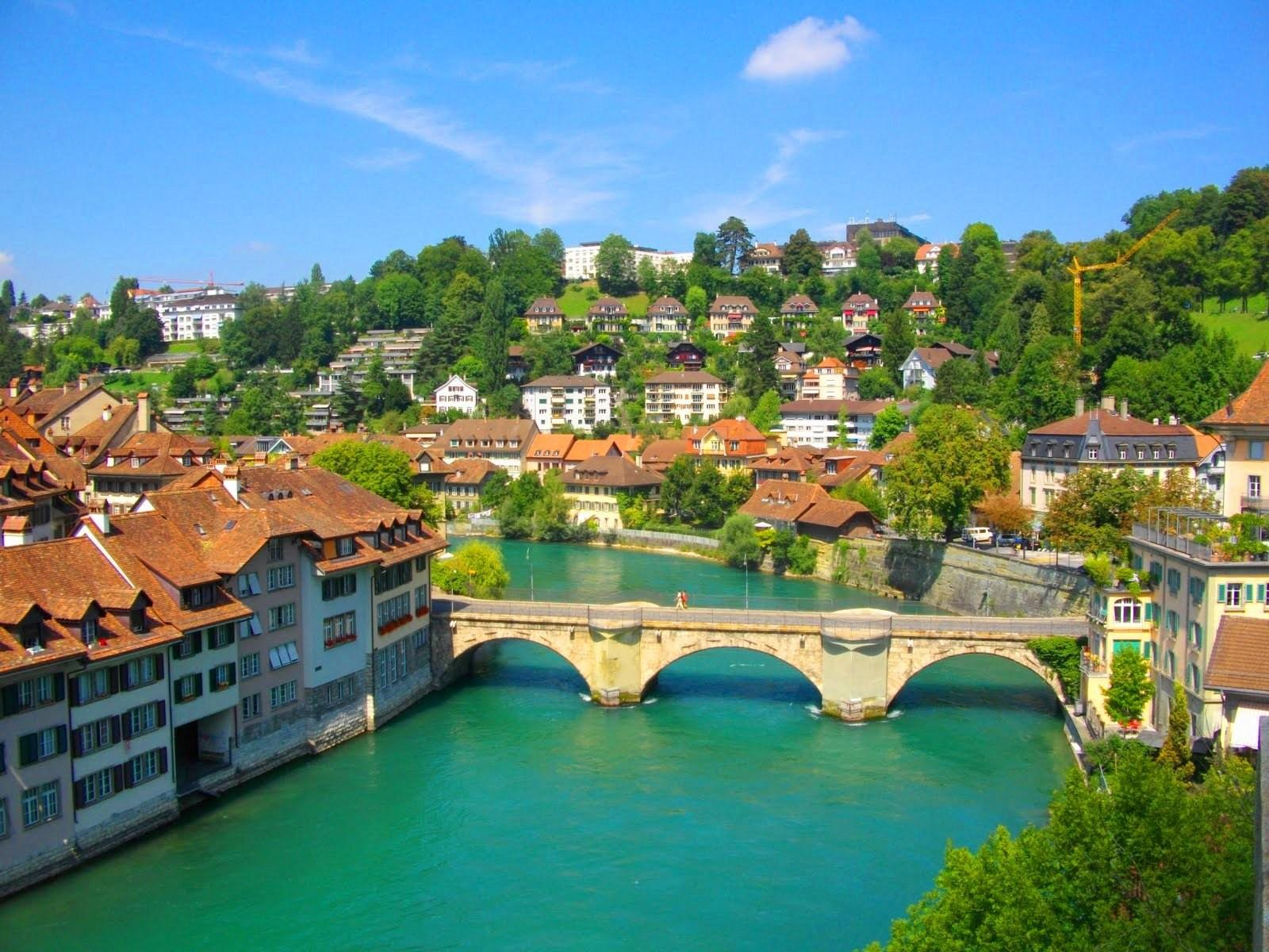 Big cities the city of bern  switzerland 049495