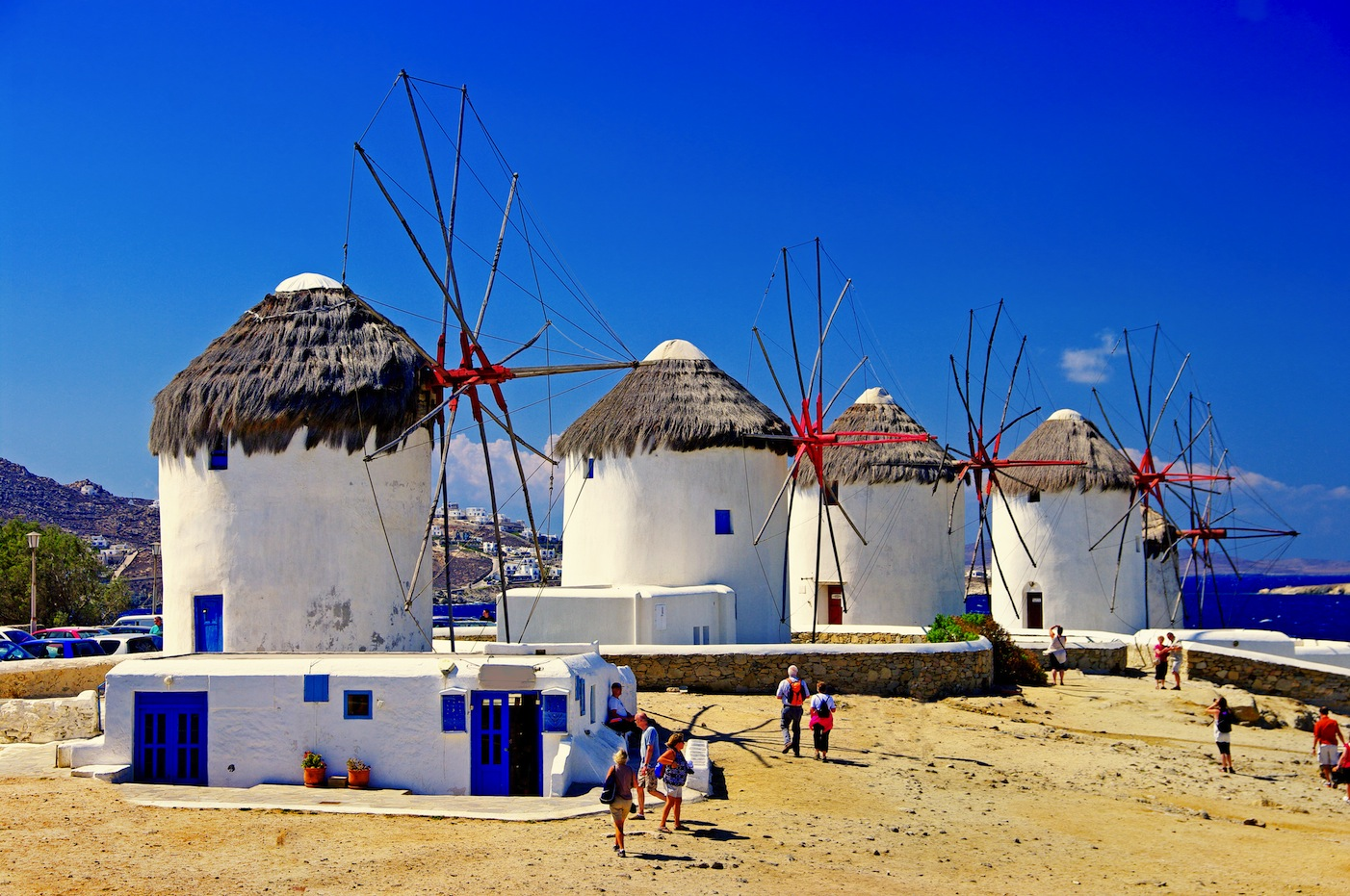 Big mykonos city island tour  5