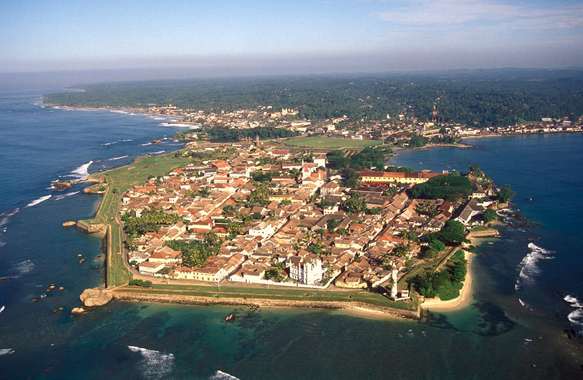 Big galle fort aerial view from the south
