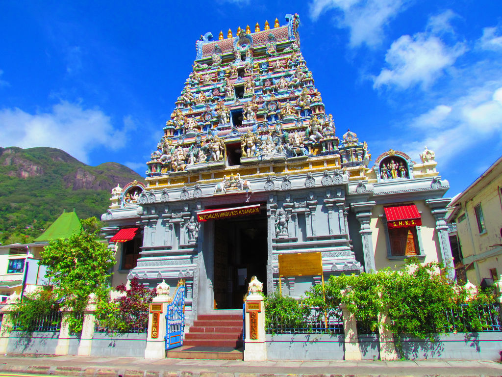 Big mahe hindu temple