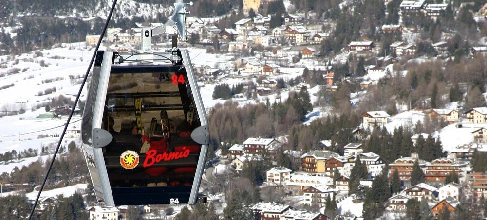 Big bormio gondola and resort